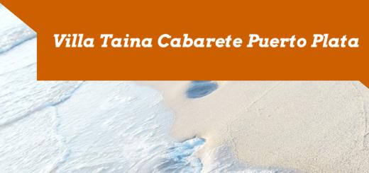 Villa Taina Cabarete Puerto Plata