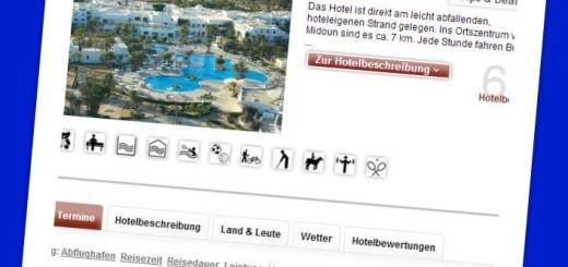 Hotel El Mouradi Djerba Menzel Tunesien