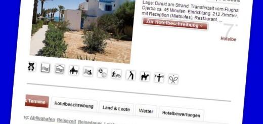 Hotel Sangho Village Djerba Tunesien