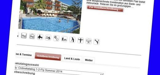 Hotel Minos Rethymnon Kreta günstig buchen