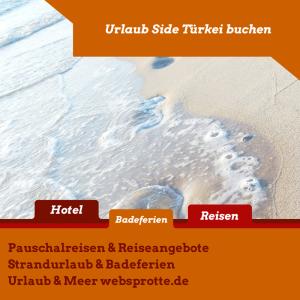 Urlaub Side Türkei buchen