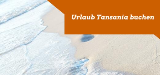 Urlaub Tansania buchen